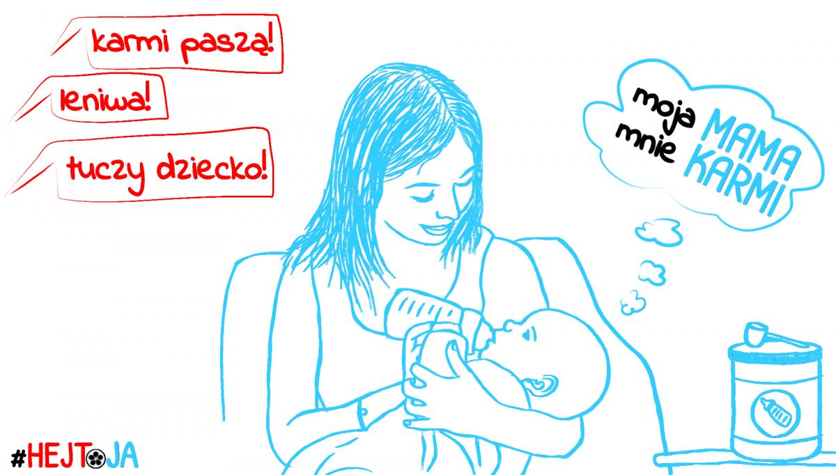 Karmienie niemowląt preparatami dożywienia – akcja HEJT oJA!